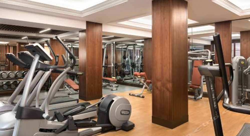 Shanghai Jianyeli Capella Hotel Gym