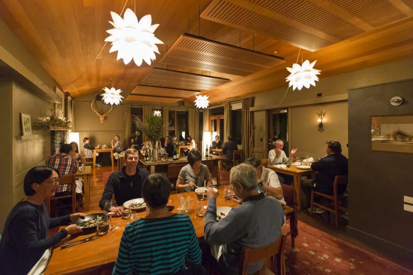 Hapuku Lodage Tree House Resturant