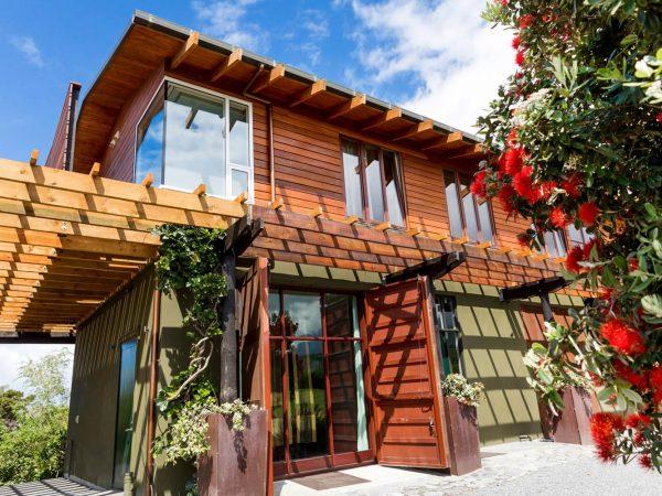 Hapuku Lodge Tree House Olive House
