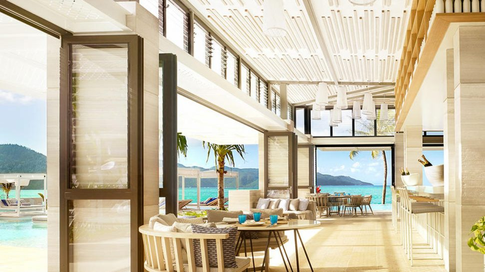 Hayman Island Aquazure Restaurant