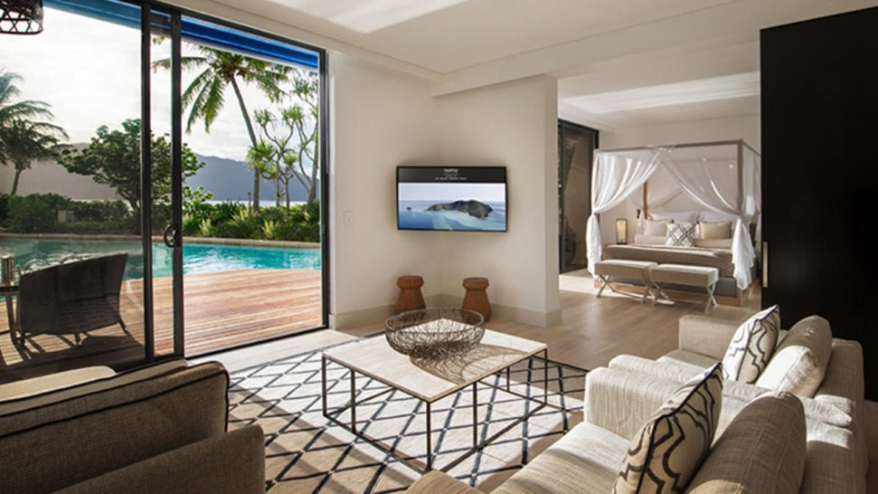 Hayman Island One Bedroom Direct Pool Access Suite