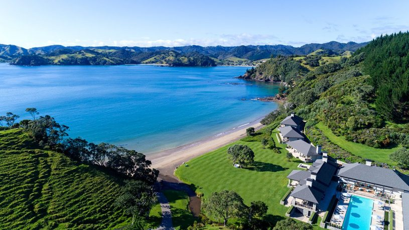 Helena Bay Lodge New Zealand Overview
