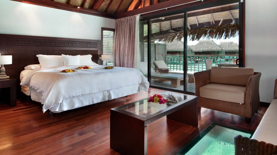 Hilton Moorea Lagoon Resort and Spa King Bungalow with Lagoon View