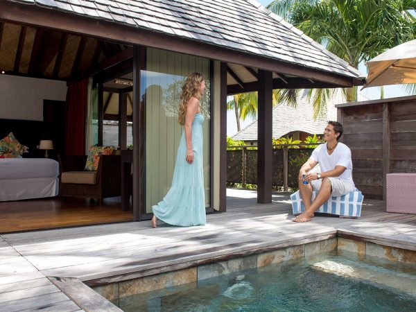 Hilton Moorea Lagoon Resort and Spa King Delux Garden Bungalow with Private Pool
