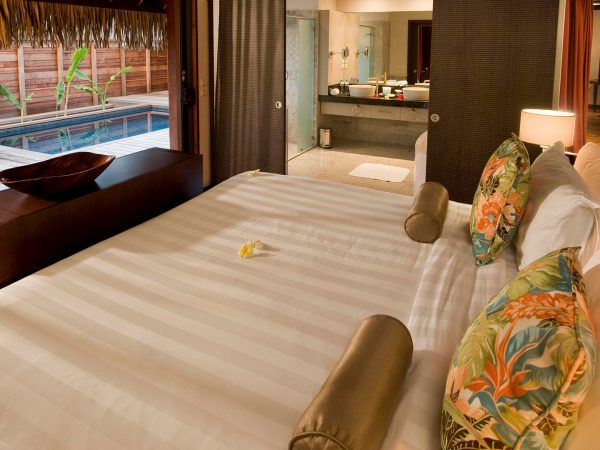 Hilton Moorea Lagoon Resort and Spa King Garden Suite with Private Pool