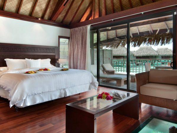 Hilton Moorea Lagoon Resort and Spa King Overwater Bungalow