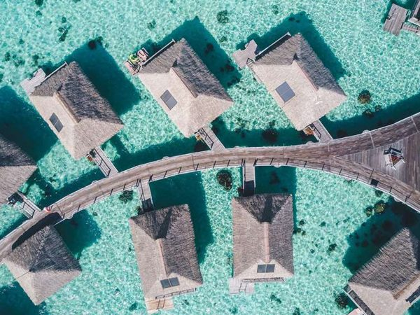 Hilton Moorea Lagoon Resort and Spa King Overwater Bungalow with Panoramic View
