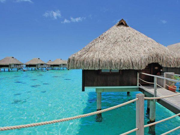 Hilton Moorea Lagoon Resort and Spa King Premium Panoramic Ovenwear Bungalow