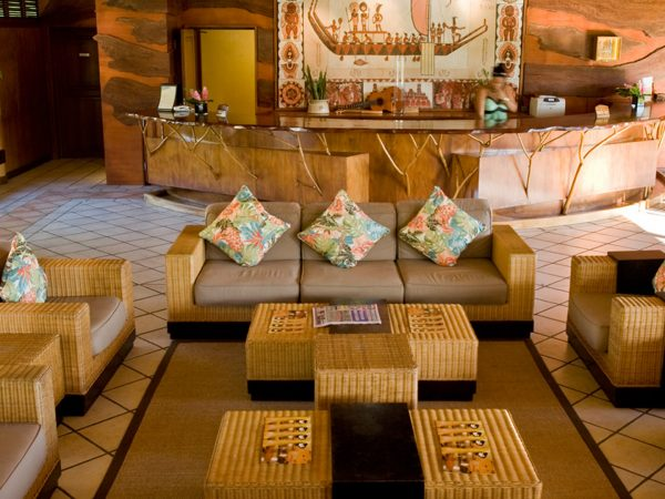Hilton Moorea Lagoon Resort and Spa Lobby