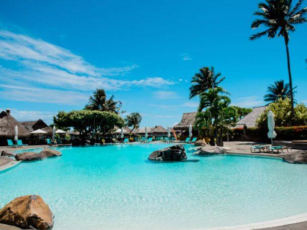 Hilton Moorea Lagoon Resort and Spa Pool