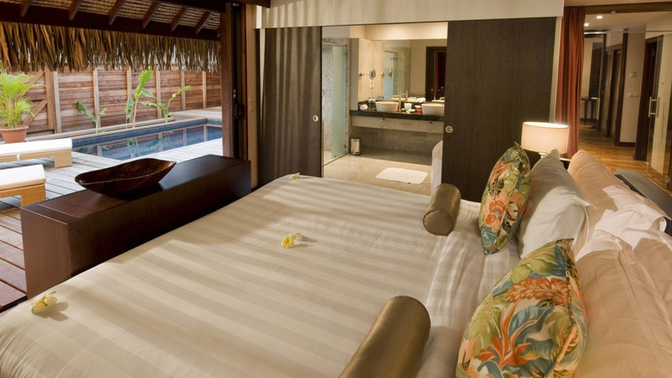 Hilton Moorea Lagoon Resort and Spa Twin Deluxe Garden Bungalow with Private Pool