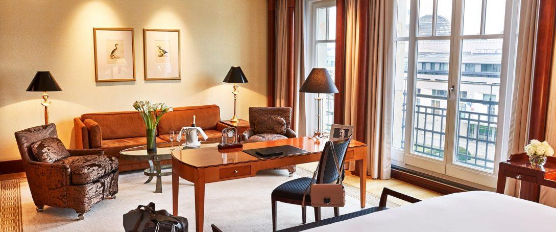 Hotel Adlon Kempinski Berlin Junior Suite Unter den Linden