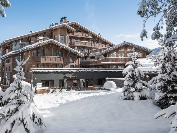 Hotel Barriere Les Neiges Exterior