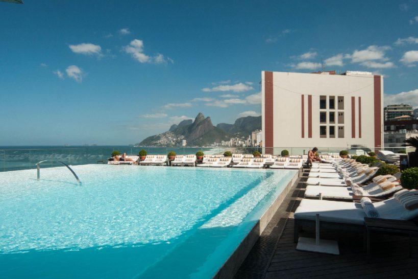 Hotel Fasano Rio De Janeiro Pool Panorama