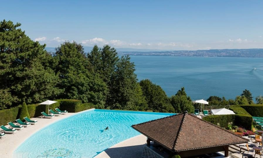 Hotel Royal Evian Resort Pool