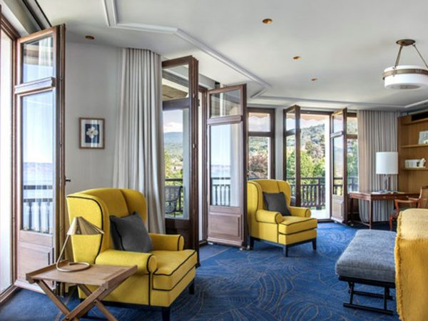 Hotel Royal Evian Resort President Suite With Lake Geneva View