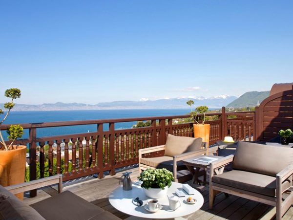 Hotel Royal Evian Resort View