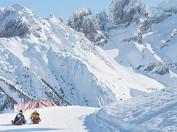 Hotel Barriere Les Neiges Courchevel Moriond Toboggan Run