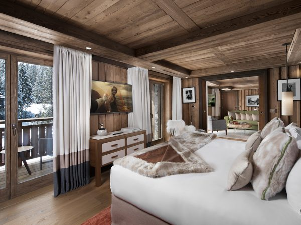 Hotel Barriere Les Neiges Luxury Suite