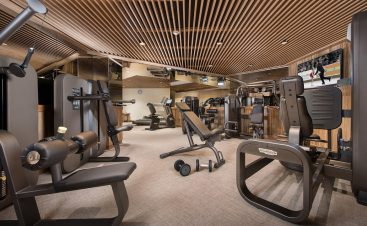Hotel Barriere Les Neiges Gym