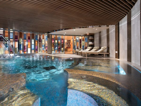 Hotel Barriere Les Neiges Indoor Pool