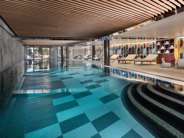 Hotel Barriere Les Neiges Pool
