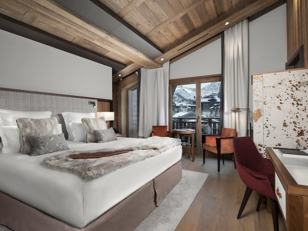 Hotel Barriere Les Neiges Prestige Room