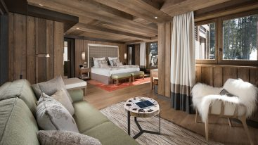 Hotel Barriere Les Neiges Prestige Suite