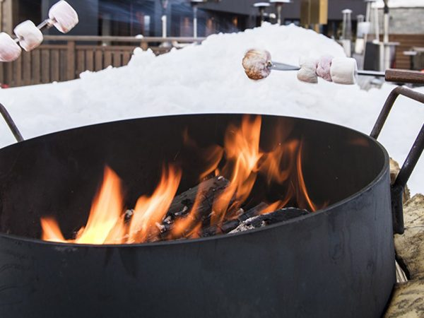 Hotel Barriere Les Neiges Roasted Marshmallows