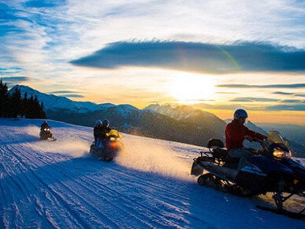 Hotel Barriere Les Neiges Snowmobile Session
