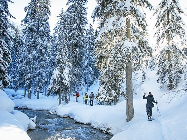 Hotel Barriere Les Neiges Snowshoeing