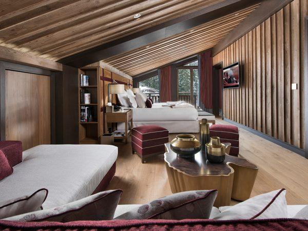 Hotel Barriere Les Neiges Snow Suite