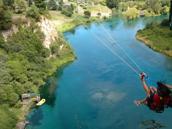 Huka Lodge Bungy Jumping