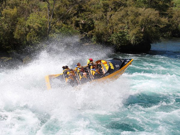 Huka Lodge Jet Boating