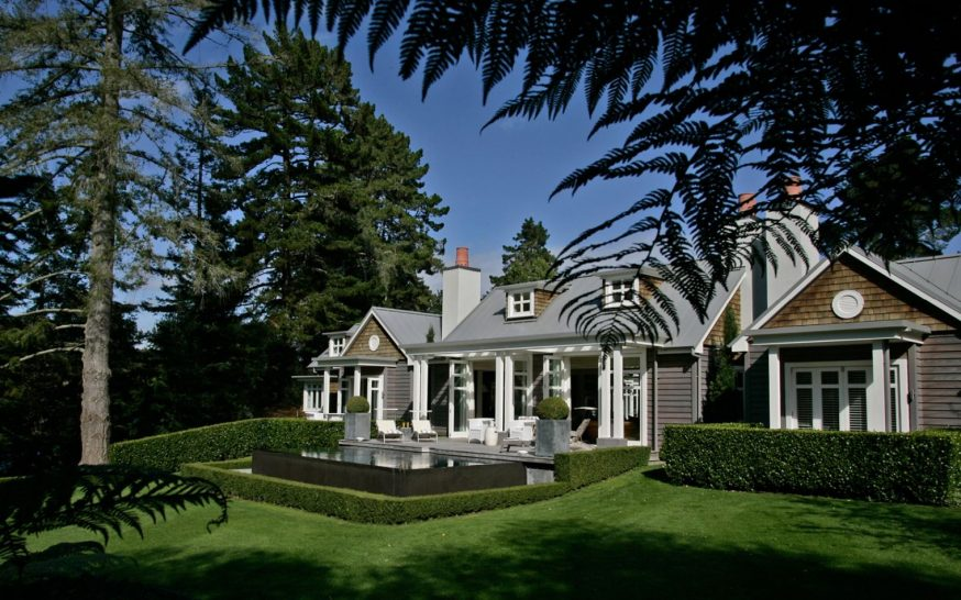 Huka Lodge New Zealand Alan Pye Cottage