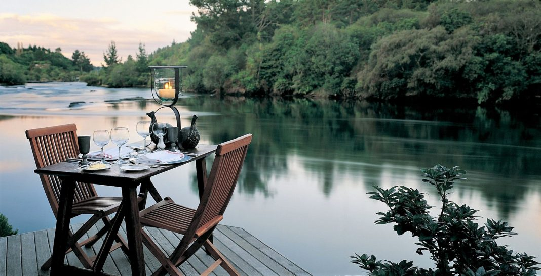 Huka Lodge New Zealand Riverside Dining