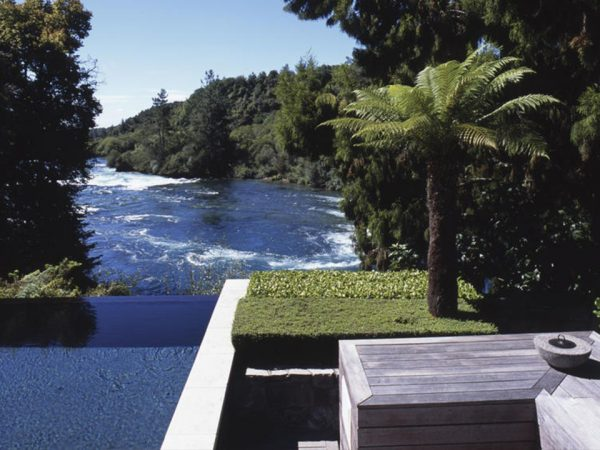 Huka Lodge Outdoor Pool
