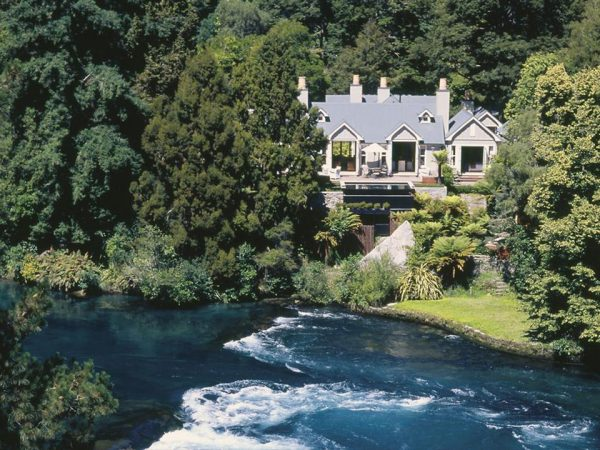 Huka Lodge Outside View