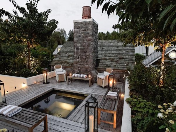 Huka Lodge Alan Pye Cottage Plunge Pool