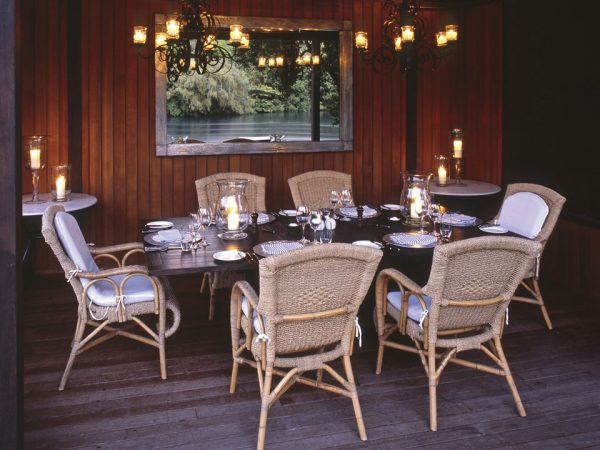 Huka Lodge Private Dining