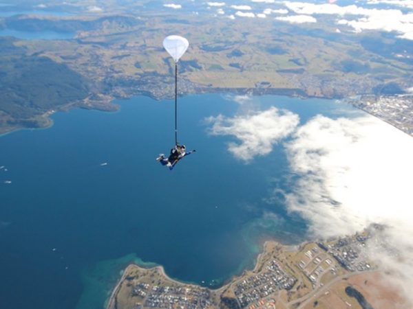 Huka Lodge Skydiving