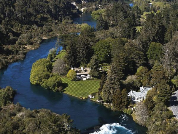 Huka Lodge Top View