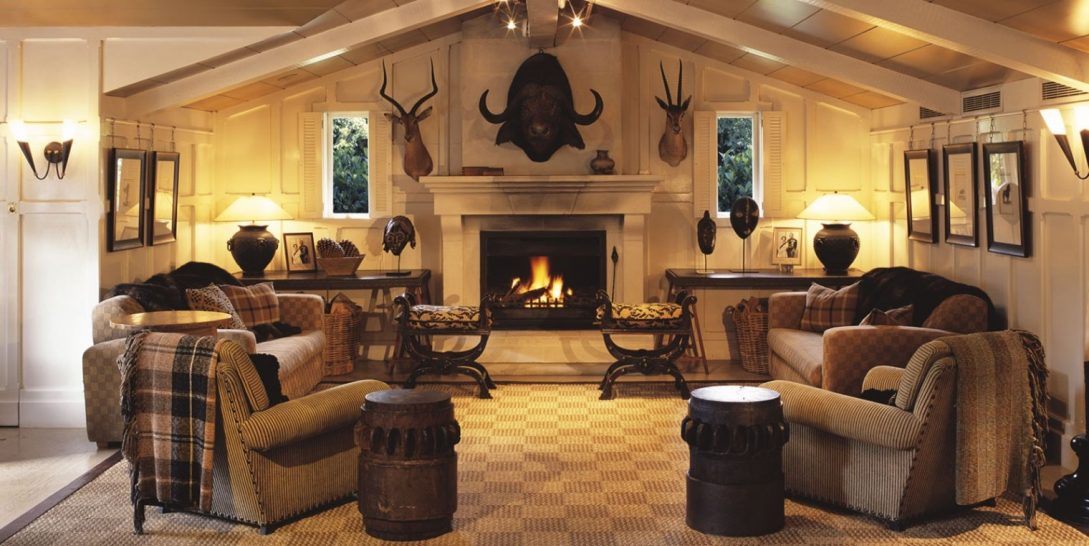 Huka Lodge Trophy Room