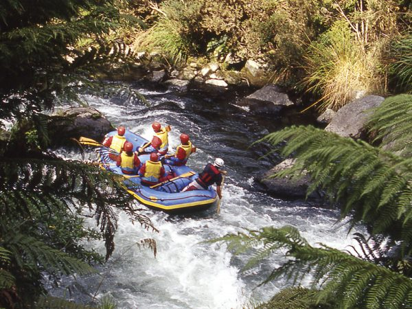Huka Lodge White Water Rafting