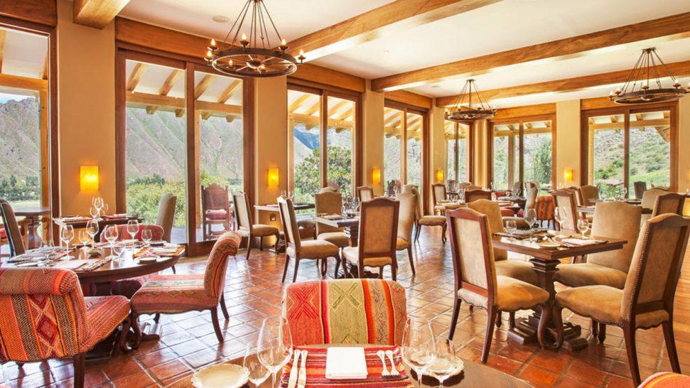 Inkaterra Hacienda Urubamba Dining Room