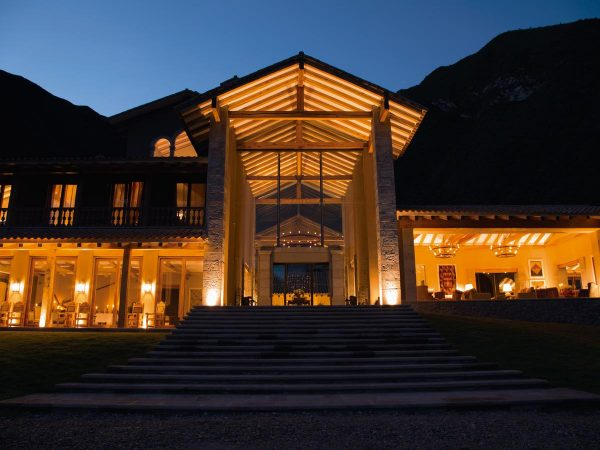 Inkaterra Hacienda Urubamba Night View