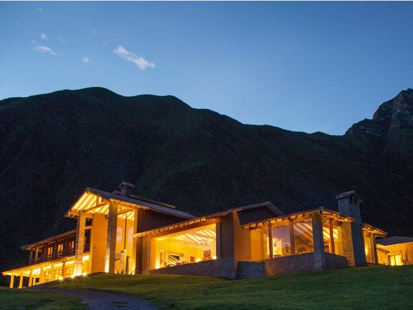 Inkaterra Hacienda Urubamba Night View Two