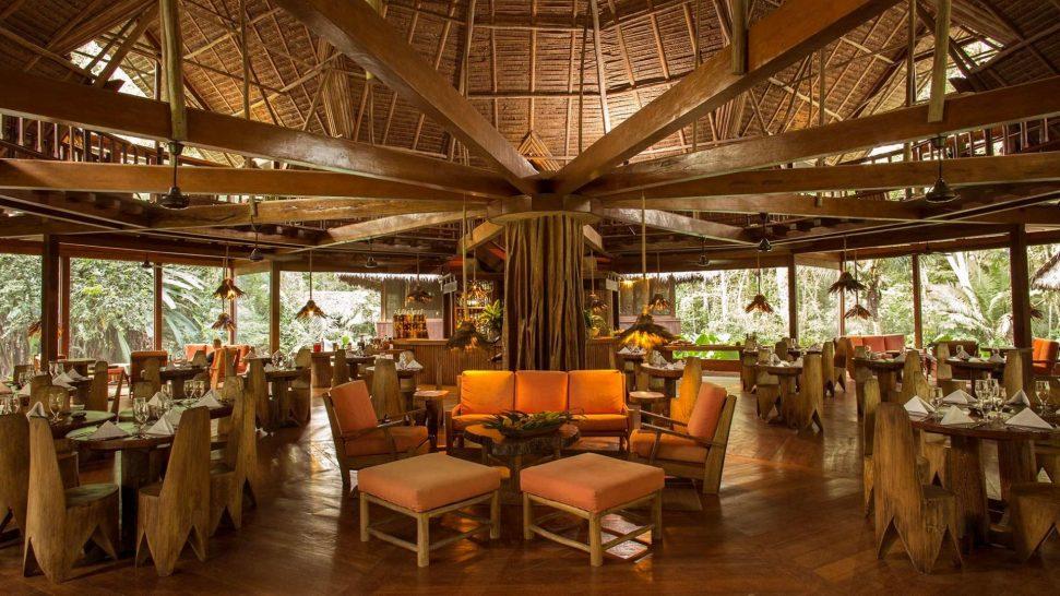 Inkaterra Hacienda Urubamba Restaurant