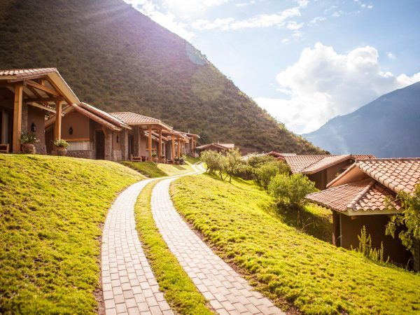 Inkaterra Hacienda Urubamba Road View