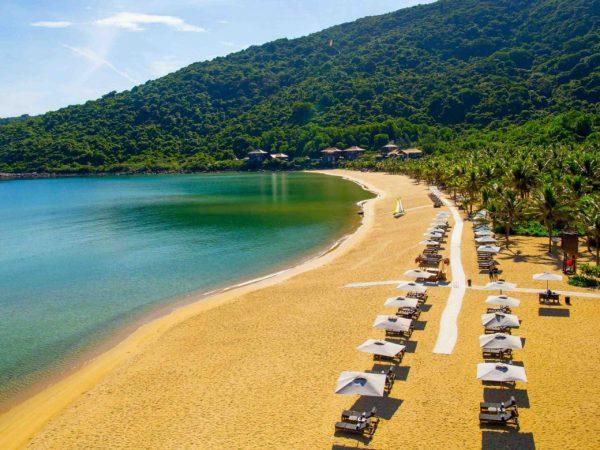 InterContinental Danang Sun Peninsula Resort Beach Landscape